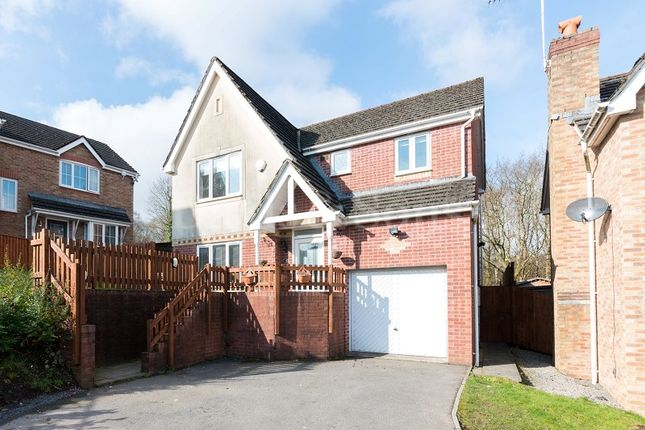 Thumbnail Detached house for sale in Burnet Drive, Pontllanfraith, Blackwood, Caerphilly.
