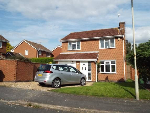 Thumbnail Detached house for sale in Sutherington Way, Anstey, Leicester, Leicestershire