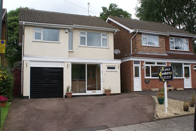 Thumbnail Detached house for sale in Woodway, Erdington, Three Bedroom Detached House