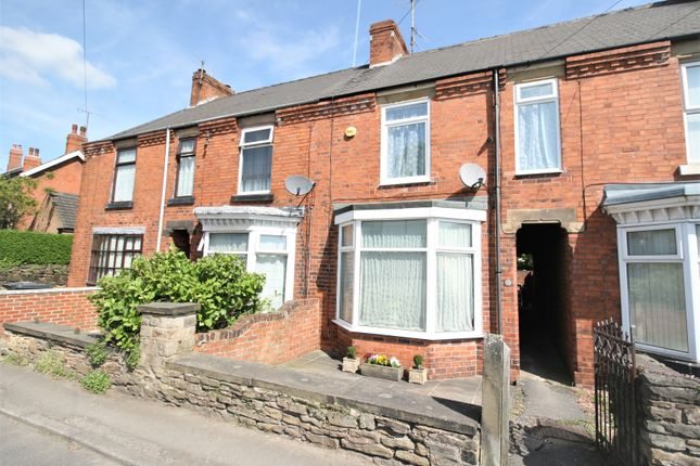 Terraced house for sale in Ashgate Road, Chesterfield