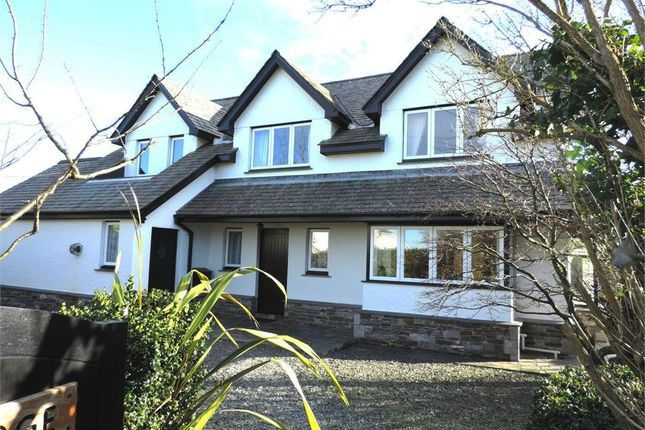 Thumbnail Detached house for sale in Week St Mary, Holsworthy, Cornwall