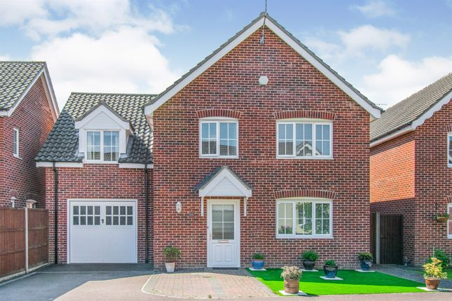 Thumbnail Detached house for sale in Fallowfields, Lowestoft