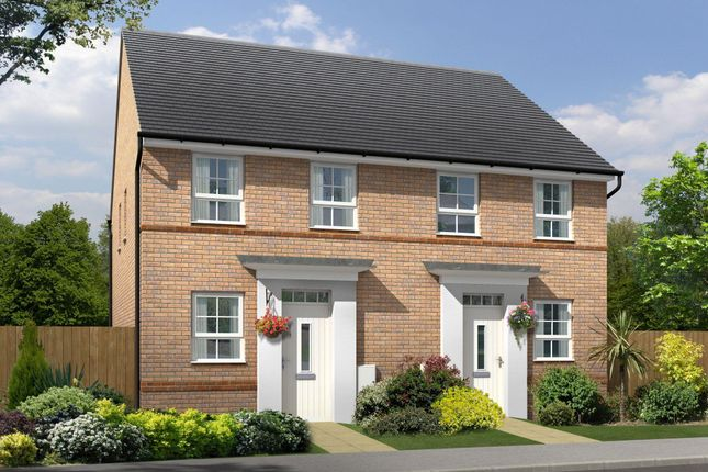 """Thumbnail End terrace house for sale in """"Tiverton"""" at Tregwilym Road, Rogerstone, Newport"""