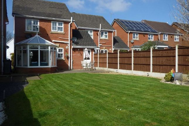 Thumbnail Link-detached house for sale in Park View Close, Blurton, Stoke-On-Trent