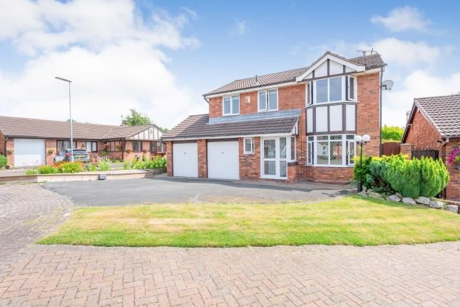Thumbnail Detached house for sale in Porthcawl Close, Widnes, Cheshire, .