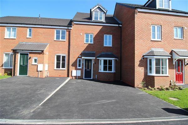 Thumbnail Terraced house for sale in Spring Lane, Pelsall, Walsall
