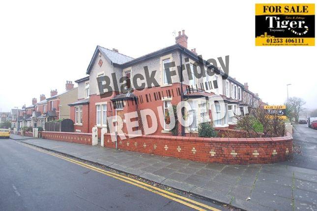 Thumbnail End terrace house for sale in Poplar Avenue, Blackpool