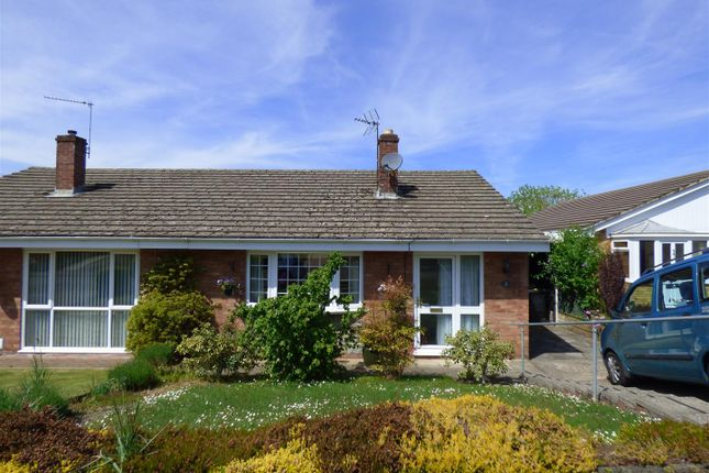 Thumbnail Semi-detached bungalow for sale in Wyebank Close, Tutshill, Chepstow