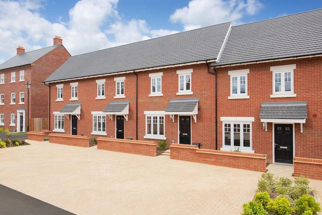 """Thumbnail Terraced house for sale in """"Amber"""" at Greenkeepers Road, Great Denham, Bedford"""