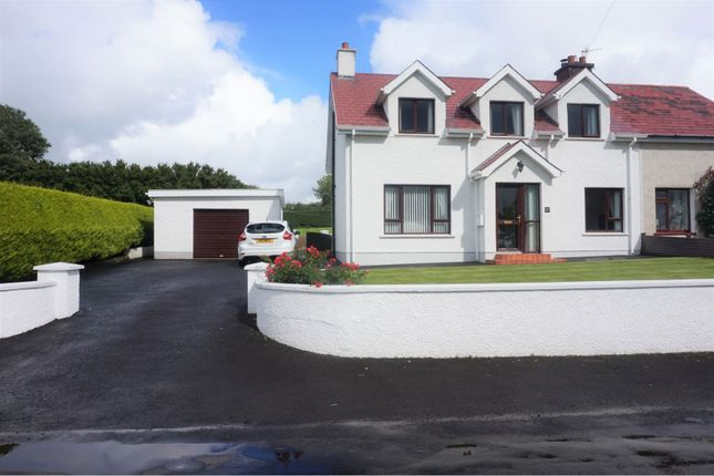 Thumbnail Semi-detached house for sale in Culcrum Road, Ballymena