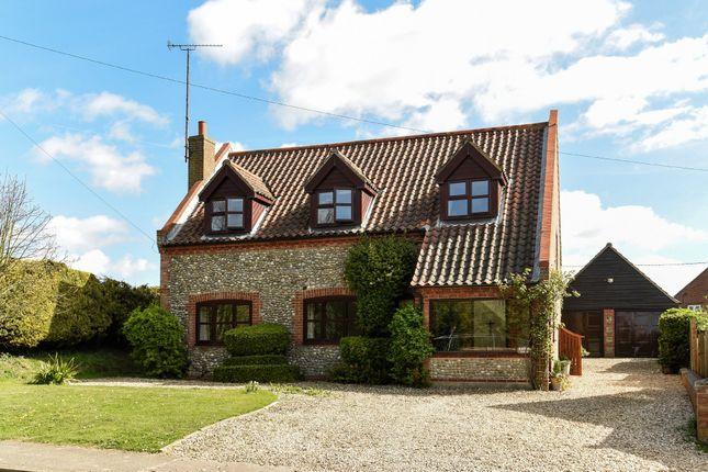 Thumbnail Detached house for sale in Walsingham Road, East Barsham, Fakenham