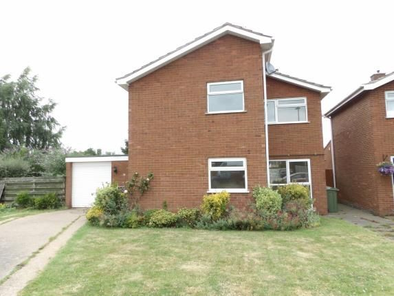 Thumbnail Property for sale in Woburn Close, Loughborough, Leicestershire