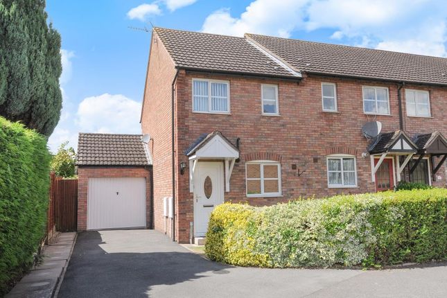 Thumbnail End terrace house to rent in Battlebridge Close, Leominster