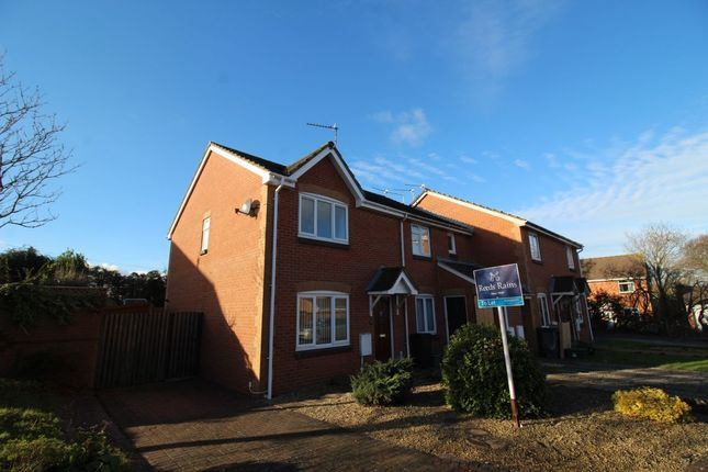 Thumbnail Semi-detached house to rent in Gaunts Close, Portishead, Bristol