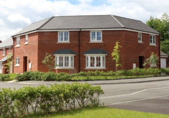 Thumbnail Semi-detached house for sale in Off Winchester Road, Blaby