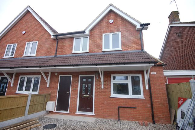 Thumbnail End terrace house for sale in Kirby Road, Basildon, Essex