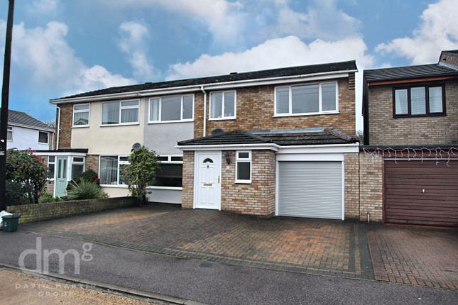 Thumbnail Semi-detached house for sale in Sweet Briar Road, Stanway, Colchester