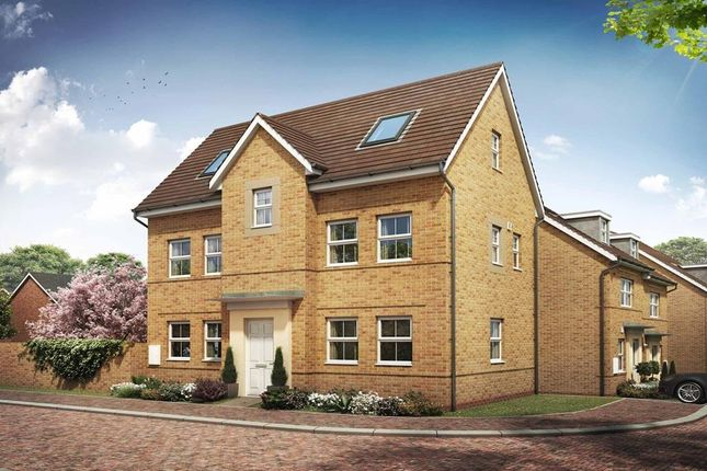"Thumbnail Detached house for sale in ""Hesketh"" at Briggington, Leighton Buzzard"
