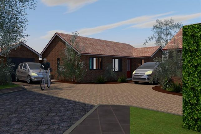 Thumbnail Detached bungalow for sale in Orchard Close, Norwich Road, Fakenham