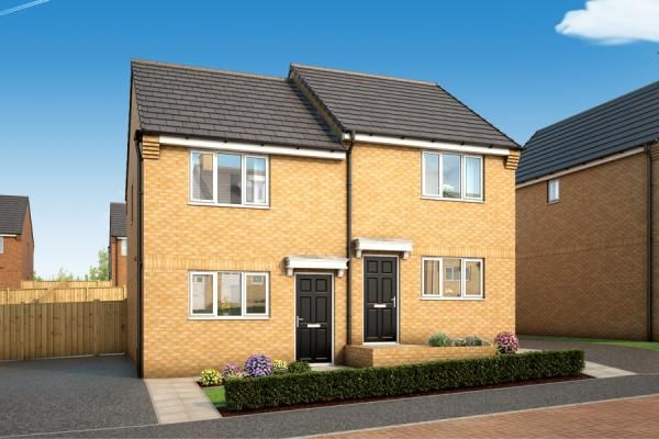"Thumbnail Property for sale in ""The Halstead At Affinity, Leeds"" at South Parkway, Seacroft, Leeds"