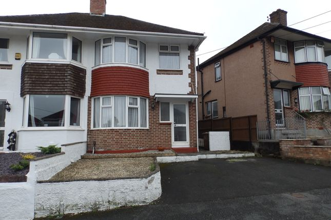 Thumbnail Semi-detached house to rent in Valiant Avenue, West Park, Plymouth