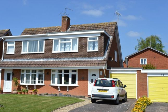 Thumbnail Semi-detached house for sale in Fleming Avenue, Sidmouth, Devon