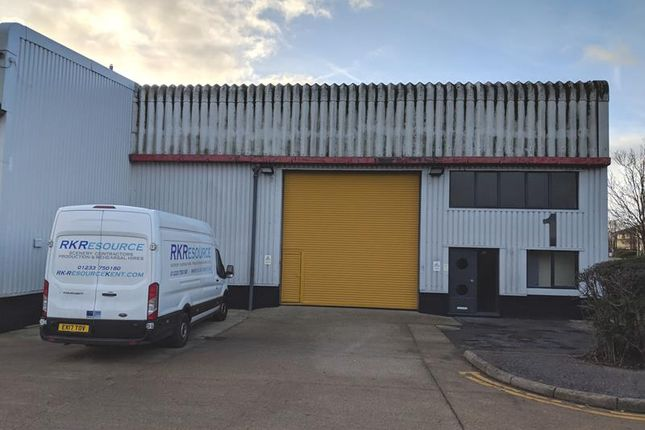 Thumbnail Light industrial to let in Unit 1, Henwood Industrial Estate, Wyvern Way, Ashford, Kent