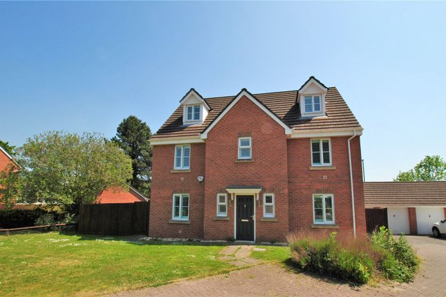 Thumbnail Detached house for sale in Wentloog Rise, Castleton, Cardiff