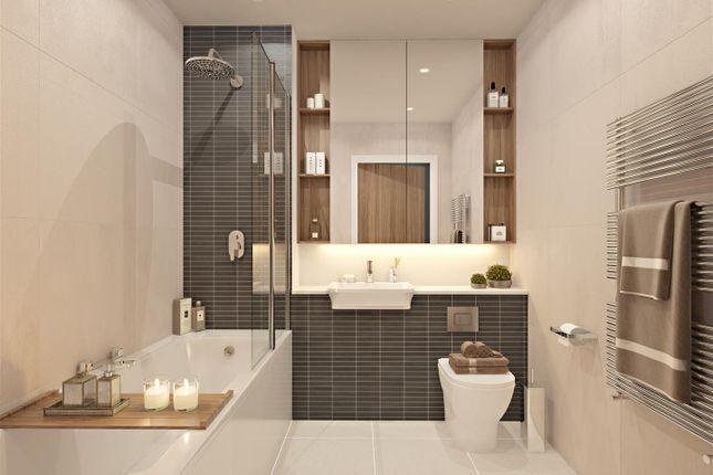 Example Bathroom of Plot 14, The Dice, St Andrew's Park, Uxbridge UB10