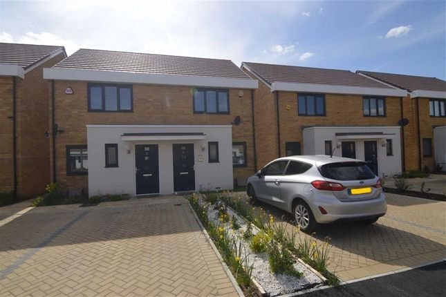 Thumbnail Semi-detached house for sale in Lapwin Close, East Tilbury, Essex