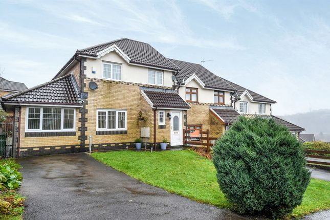 Thumbnail Semi-detached house for sale in Nant Y Coed, Thomastown, Porth