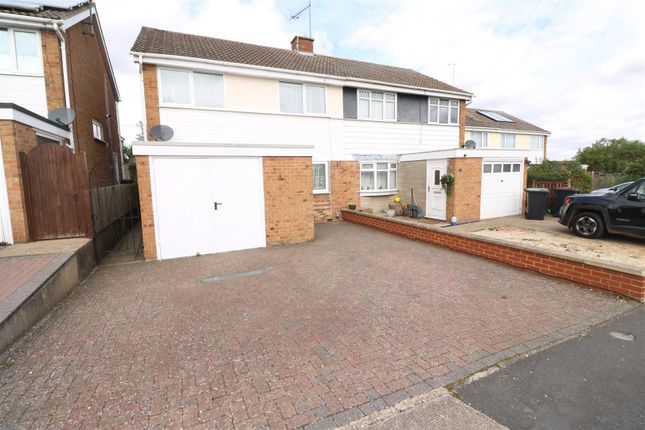 Thumbnail Semi-detached house for sale in Loseby Close, Rushden