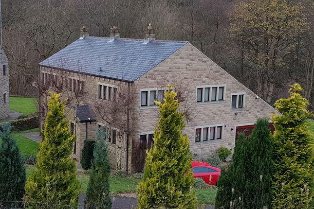 Thumbnail Detached house for sale in Berry Mill Lane, Scammonden, Huddersfield