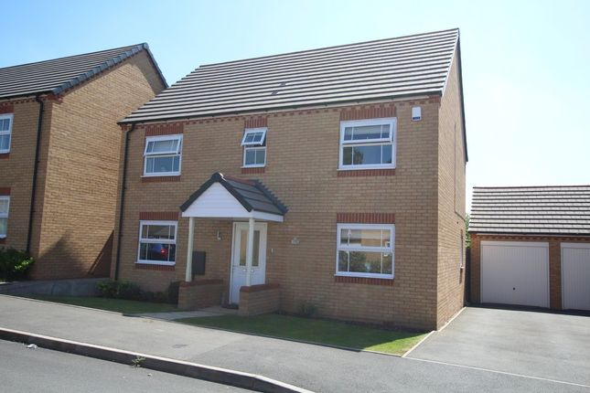 Thumbnail Detached house to rent in Lyons Drive, Coventry