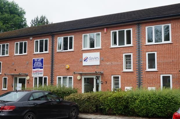 Thumbnail Office to let in First Floor, 7 Solway Court, Crewe Business Park, Crewe, Cheshire