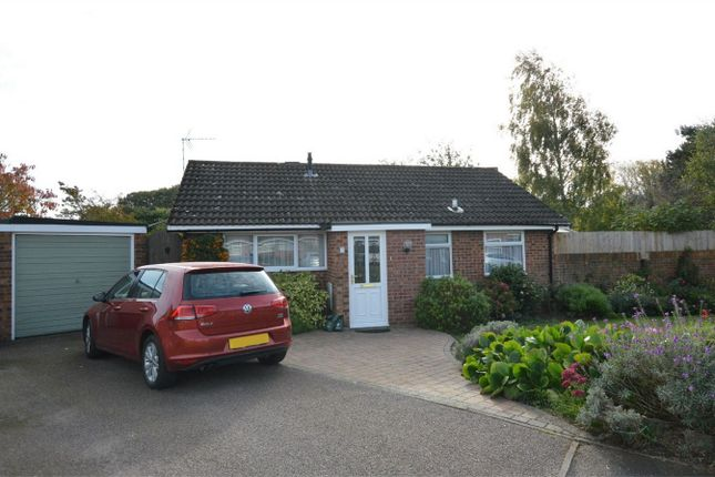 Thumbnail Detached bungalow for sale in Howes Close, Hethersett, Norwich