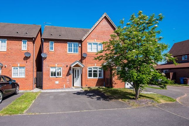 Thumbnail Semi-detached house for sale in Campbell Crescent, Kirkby, Liverpool