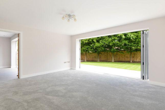 Living Room With Bi-Folding Doors