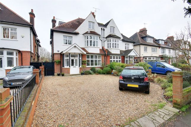 Thumbnail Semi-detached house for sale in Wellington Road, Enfield, Middlesex