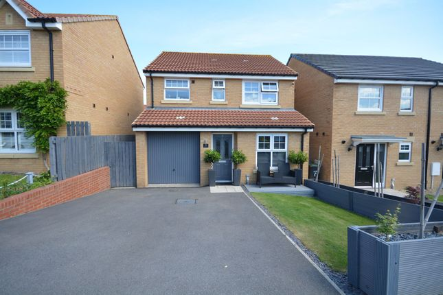 Thumbnail Detached house for sale in Rosewood Walk, Broom Lane, Ushaw Moor, Durham