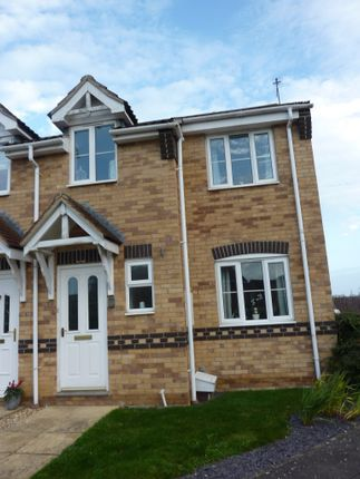 Thumbnail Semi-detached house to rent in Shiregate, Metheringham, Lincoln