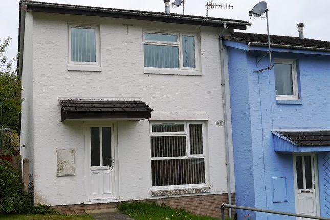 Thumbnail Semi-detached house to rent in 107, Heol Tyn Y Fron, Penparcau