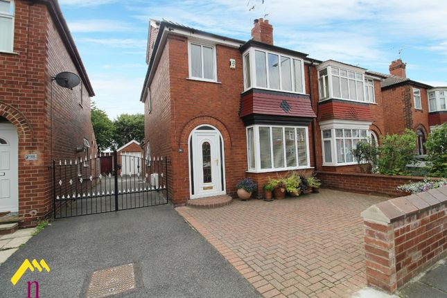 Thumbnail Semi-detached house for sale in Manor Drive, Bennetthorpe, Doncaster
