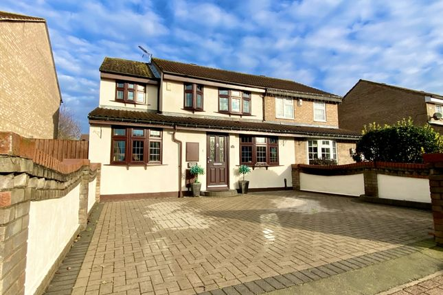 Semi-detached house for sale in Robinson Close, Hornchurch