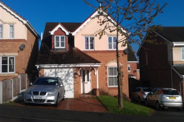 Thumbnail Detached house to rent in Meadow Gardens, Heanor