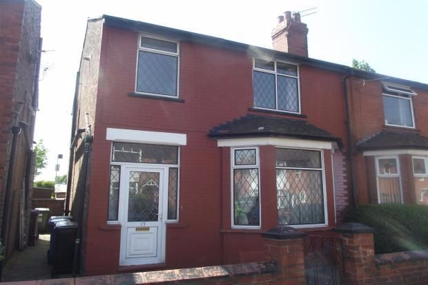 Thumbnail Semi-detached house to rent in Criccieth Road, Stockport