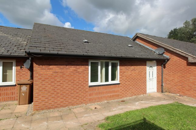 Thumbnail Terraced bungalow to rent in Egginton Road, Etwall, Derby