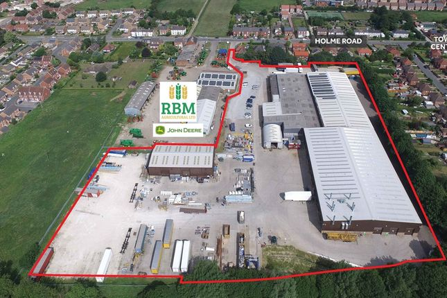 Thumbnail Industrial for sale in Holme Road, Market Weighton