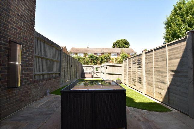 Reear Garden of Baker Crescent, West Dartford, Kent DA1