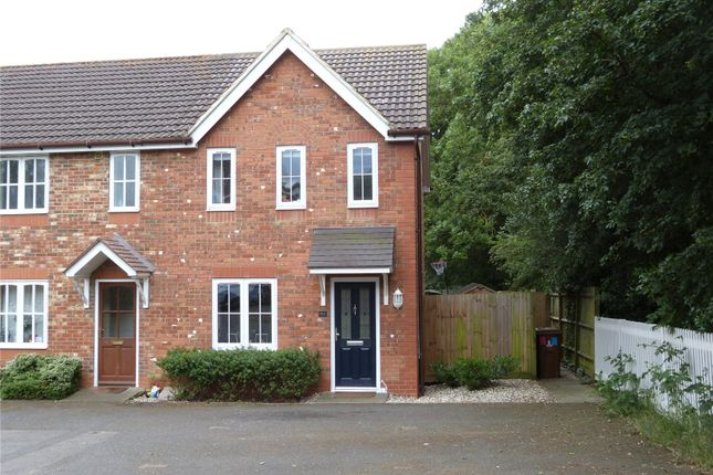 Thumbnail End terrace house to rent in Moorhen Drive, Lower Earley, Reading, Berkshire